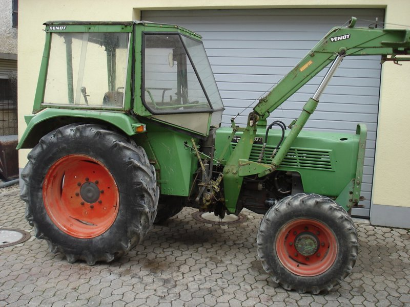 traktor fendt farmer 102s turbomatik allrad frontlader. Black Bedroom Furniture Sets. Home Design Ideas