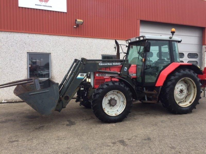 Massey Ferguson 6160 DYNASHIFT Traktor - Rabljeni traktori i